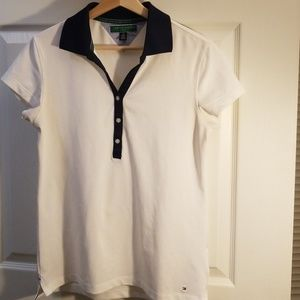 Tommy Hilfiger white women polo